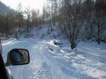 Море снега и неплохая дорога