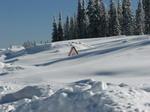 Снега не просто много, а очень много