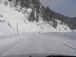Снег грозится сорваться с ближайших вершин
