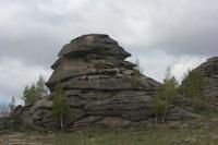 Скальные выходы на подходе к Змеиногорску