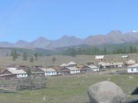 Такова основная картинка поселка Джазатор