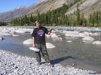 Вадим отправился на рыбалку